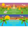 Amazing Thailand Banners Set vector image vector image