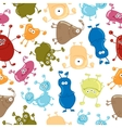 Bacteria Seamless pattern Medicine background vector image