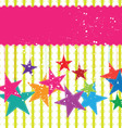 festival star background vector image vector image