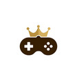 game king logo icon design vector image