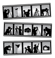 photography filmstrip vector image vector image
