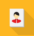 portrait drawing icon set of great flat icons vector image