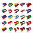 set world flags vector image vector image