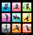 Sport buttons 05 vector | Price: 1 Credit (USD $1)
