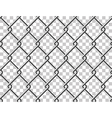 Steel mesh metal fence seamless transparent vector image vector image