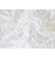 texture crumpled paper vector image vector image