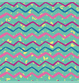 trendy zigzag abstract seamless background vector image