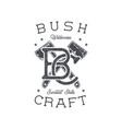 vintage hand drawn adventure badge and emblem vector image vector image