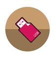 Usb Stick icon vector image