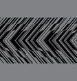 abstract black grey arrow circuit cyber pattern vector image vector image