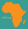 africa map vector image vector image