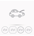Car repair icon Mechanic service sign vector image vector image