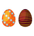 Easter eggs spring colorful celebration decoration
