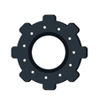 gear wheel engine teamwork vector image
