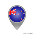 new zealand point vector image