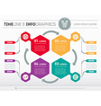 Web Template for circle diagram or presentation vector image vector image
