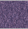 knit texture melange pink purple color seamless vector image vector image