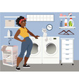 Laundry Day vector image vector image