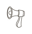 megaphone loudspeaker marketing advertising vector image