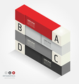 modern isometric Design template vector image vector image