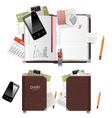 Office diary vector | Price: 1 Credit (USD $1)