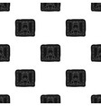 prisoner icon in black style isolated on white vector image vector image