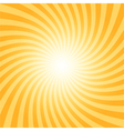 Sunray spiral pattern vector image