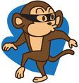 Thief Monkey vector image