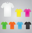 White and color men t shirts