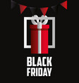 black friday shopping sales vector image