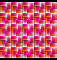 colorfull weave background design vector image vector image