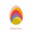 easter abstract vector image