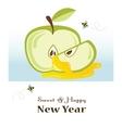 happy new year rosh hashanah jewish holiday vector image vector image