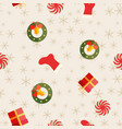 holiday abstract seamless repetition pattern vector image vector image