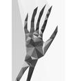 Ladybird polygonal vector image vector image