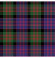 Macdonald tartan kilt fabric texture check vector image vector image