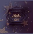 original sale poster for black friday sale vector image vector image