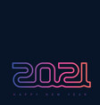 poster template for night dance party 2021 banner vector image