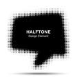 Bubble Halftone Design Element for your design vector image
