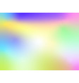 abstract colorful blurred background design vector image vector image