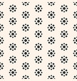 abstract dotted seamless pattern simple floral vector image vector image
