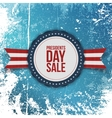 Presidents Day Sale american Holiday Banner vector image vector image