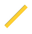 ruler icon flat style vector image