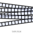 Template film roll vector image vector image