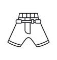 Line icon hockey rugby baseball uniform