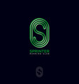 logo sprinter club sprinterjogging club emblem vector image vector image