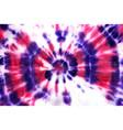 tie dye circle shibori pink purple magenta vector image vector image