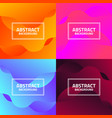 abstract gradation background vector image vector image