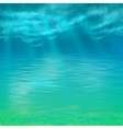 Abstract Under Water Background vector image vector image