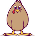 Baby Fowl Cartoon vector image vector image